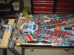Rotisserie with playfield
