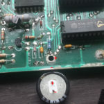 + and - for the capacitor