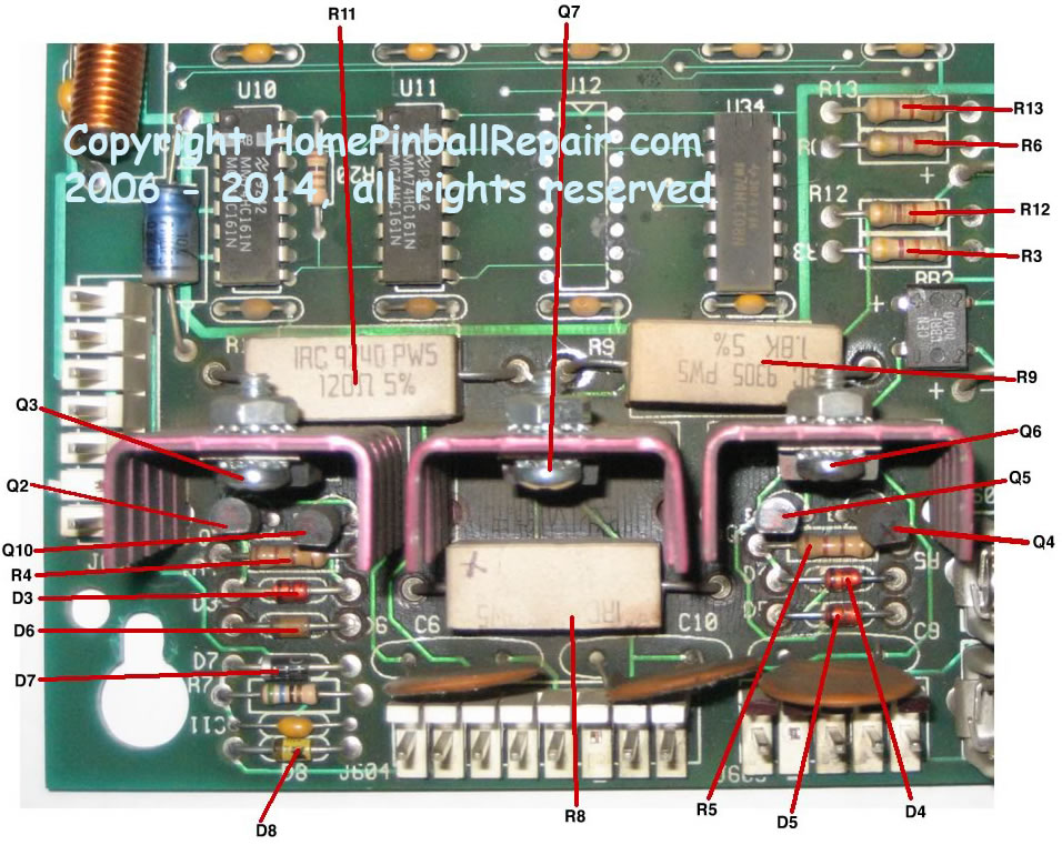 Rebuilding The High Voltage Section Of A Williams Bally
