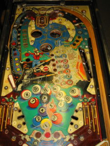 Stripped playfield