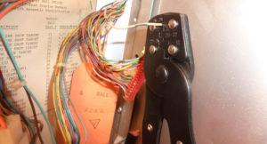 Wire and crimper