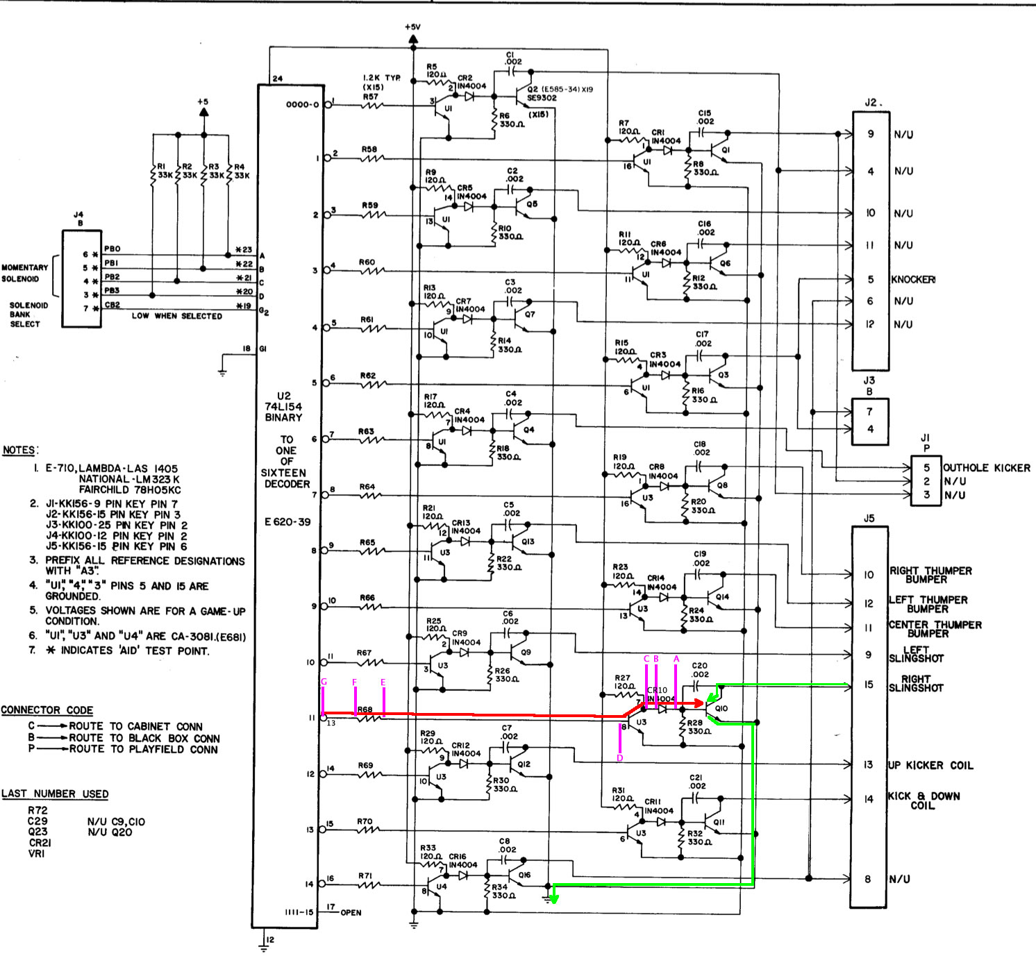 How To Use A Digital Logic Probe For Pinball Repair Easy Step By Circuit Symbols View Diagram Schematic Driver Board