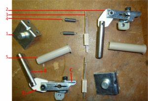 Flipper kit parts