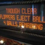 Ball eject menu
