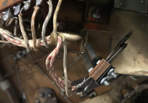 The removed switch.
