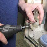Dremel buffing tool