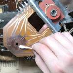 lubricate circuit board