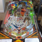 New playfield plastics installed