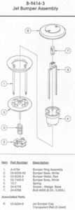 Above Playfield Parts