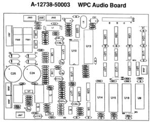 WPC89 pre-DCS Sound Board