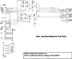 WPC 95 50V flipper power