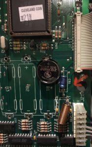 Capacitor 31 WPC CPU